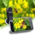 APEXEL Мобильного Телефона Объектива 2 в 1 Клип на 12X Макро-Объектив + 24X супер Макро Комплект Объектива Камеры для iPhone 6 6 S 6 Plus Xiaomi Red 24XM