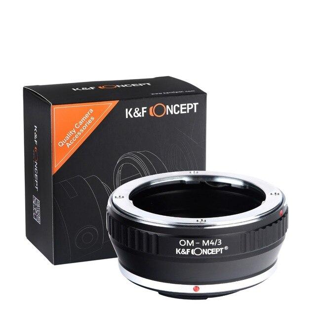 K & f conceito lente adaptador de montagem para olympus om lens to micro 4/3 lente da câmera anel adaptador g1 gf1 ep-1 fh1
