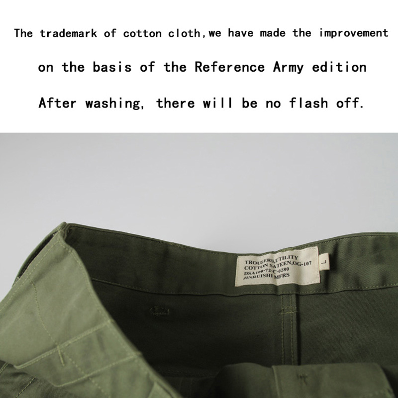 Pants Vintage Bronson Us Amry 1958 Vietnam War Og107 Utility Fatigue Trousers Baker Pants Men With The Most Up-To-Date Equipment And Techniques