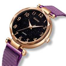 2019 New Fashion Ladies Quartz Watch Rose Gold Alloy Casing Waterproof Watches Top Luxury Brands  Casual Style Women Watch+box top plaza fashion women s alloy analog crystal watch rose gold tone