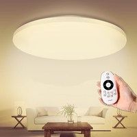 Ceiling 18W NEW Modern LED Ceiling Light With 2 4G RF Remote Group Controlled Dimmable Color