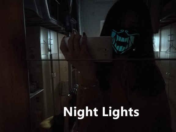 KPOP Новый Аниме League of K/DA кДа Akali Assassin Косплэй S8 маска для лица ночные светильники Косплэй реквизит маски мышка с подсветкой подарки