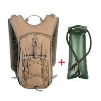 3L Water Bladder Bag 16L Waterproof Molle Backpack Military Tactical Hydration Camelback Soft Flask Water Bottle Bag