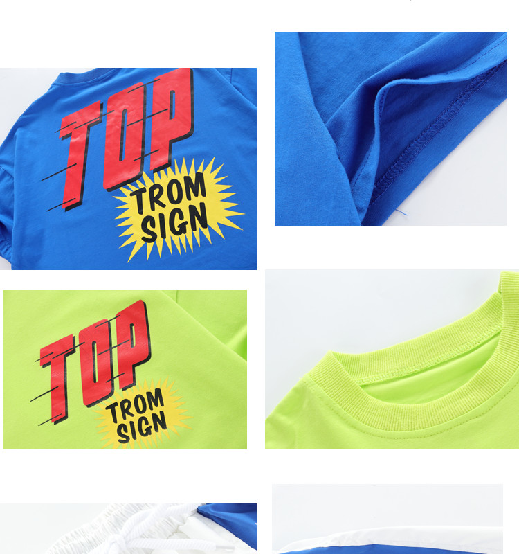Kid clothes girl Boy set Summer 2019 4 6 8 10 12 14 Years Hip Hop T shirt Pants dance costumes kids boys Girls young clothes (15)