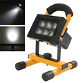 Bailong Outdoor Waterproof Portable 10W 6LED Cordless Rechargeable Work Light Spot Lamp for Camping