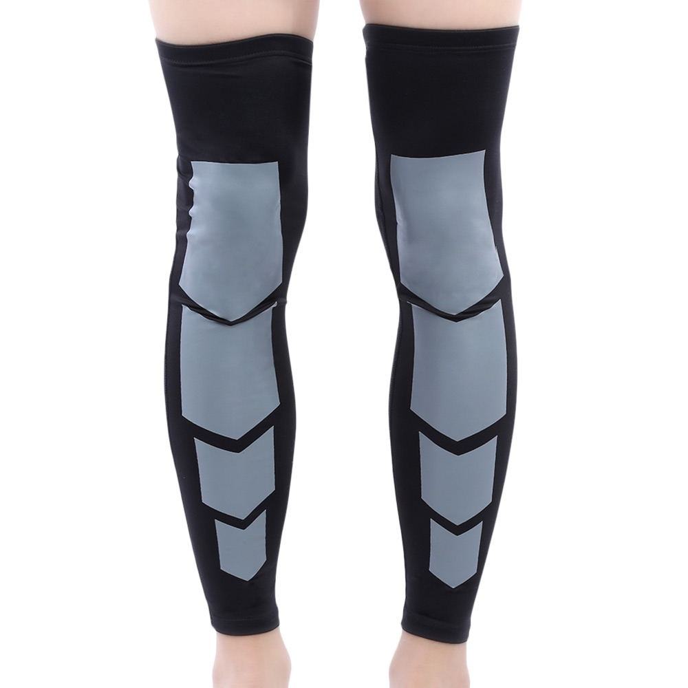 Elastic 1 Pair Sport Running Basketball Compression Non-slip Protective Kneecap Knee Sleeve Leg Warmer Knee Braces protector