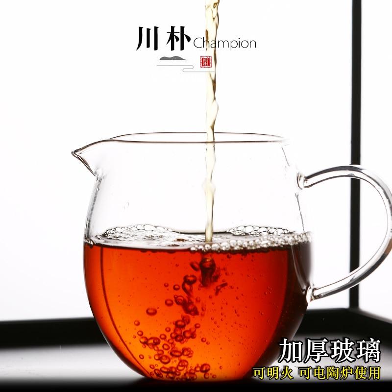 Thicken heat-resistant glass Filter Mug,Ceramic Tea Cup Kung Fu Tea Set Tea Strainer Fair Cup Water Mug Puer Tea Bowl Drinkware