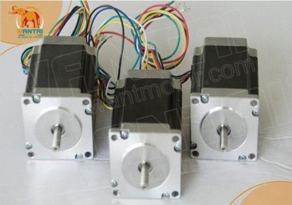 Wantai 3 pz Nema23 Motore Passo A Passo di 57BYGH633 3.0A 270oz-in 78mm CE & ROHS & ISO Router di CNC Stampante 3DWantai 3 pz Nema23 Motore Passo A Passo di 57BYGH633 3.0A 270oz-in 78mm CE & ROHS & ISO Router di CNC Stampante 3D