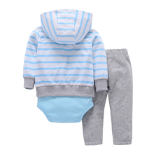 2018 Top Fashion Special Offer Full 100% Cotton Bodysuit & Pants Set Clothing Baby Boys Girl Clothes 0~24 Months Newborn Suit
