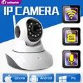 1.0MP Cámara IP Inalámbrica WIFI IR-Cut Visión Nocturna Audio de Dos Vías HD 720 P PTZ Cámara de Vigilancia CCTV IP Onvif P2P XMEye Interior