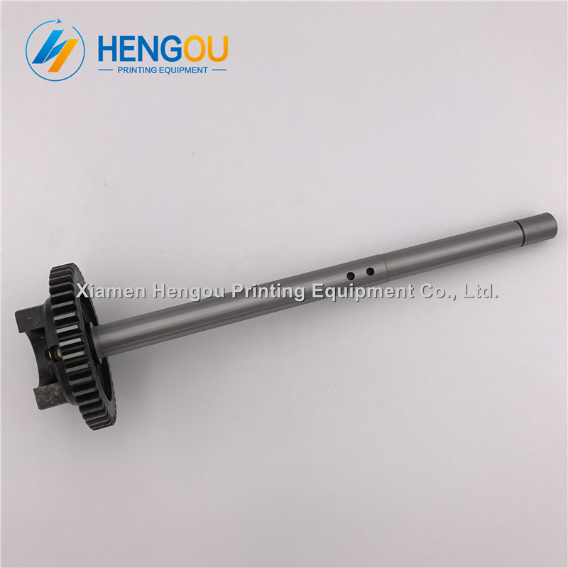 1 Piece Heidelberg CD102 SM102 Water roller gear shaft S9.030.210F heidelberg offset printing machinery spare parts offset printer heidelberg printing machines spare parts ink fountain end plates