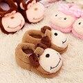 Calcetines de bebé niño otoño e invierno engrosamiento suela de goma antideslizante calcetines del piso de dibujos animados de tobillo calcetines antideslizantes