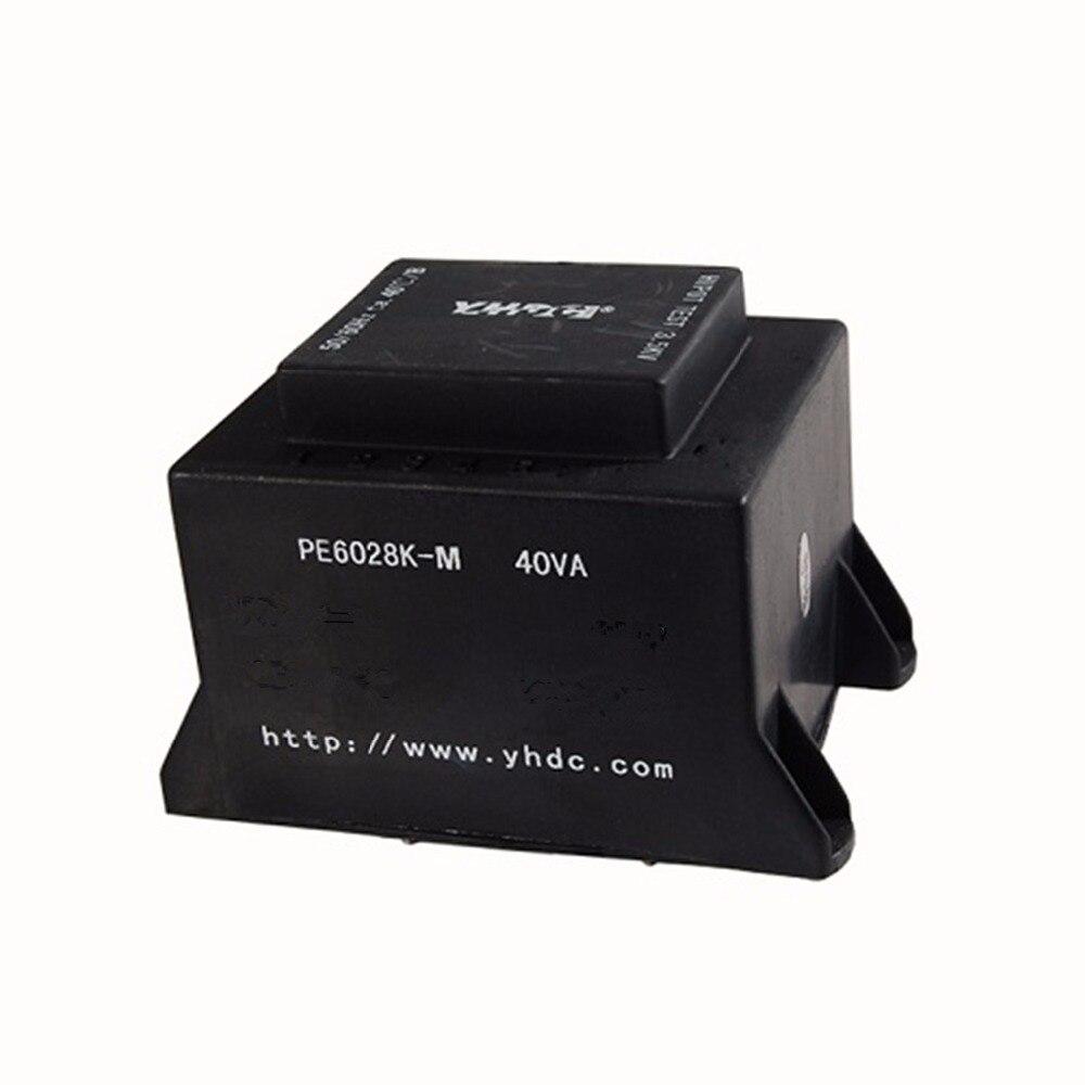 PE6028K-M 40VA/220В/2 * 9В Инкапсулированный трансформатор сварочный трансформатор ПП