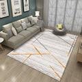 Короткие ковры для гостиной  геометрический ковер для спальни  диван  журнальный столик  креативные коврики для кабинета  напольный коврик ...