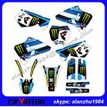 HIGH PERFORMANCE YZ125/YZ250 1996 1997 1998 1999 2000 2001 3M TEAM GRAPHICS DECALS STICKERS KITS RACING OFF ROAD MOTORCYCLE