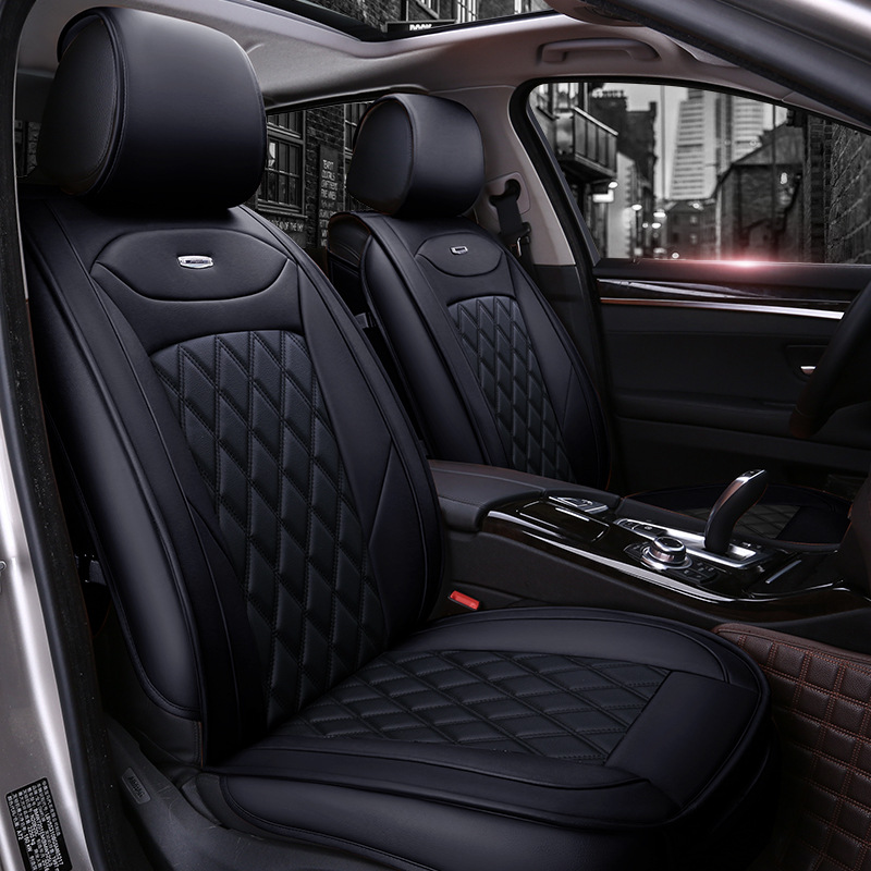 super luxury new all inclusive pu leather car seat covers four