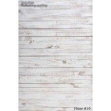 Тонкий ткани ткани Печатные фотографии фоном деревянный пол фон для Студии Floor-810