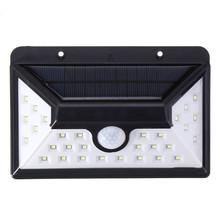 Mising 28 LED Solar Lights OutdoorLED Garden Light PIR Motion Sensor 2835 smd Solar Powered Security Emergency Wall Lamp
