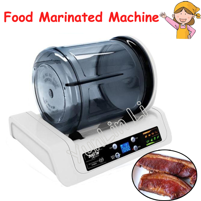 7L Electric Vacuum Food Pickling Machine Household Vacuum Food Marinated Machine Commercial Meat/Fried Chicken Marinator KA-6189 7l electric vacuum food pickling machine household vacuum food marinated machine commercial meat fried chicken marinator ka 6189