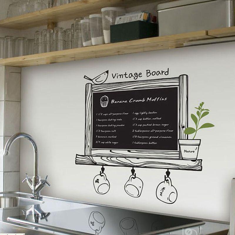 Discount Kitchen Decor: Wholesale Kitchen Chalkboard Free Shipping Via Express