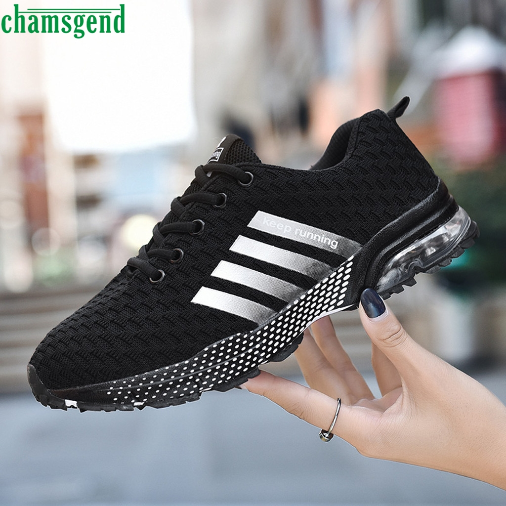 CHAMSGEND Running Shoes 2019 Couple Sneakers Fashion Walking Outdoor Sneakers Hot Sell Breathable Summer Training Jogging Sports