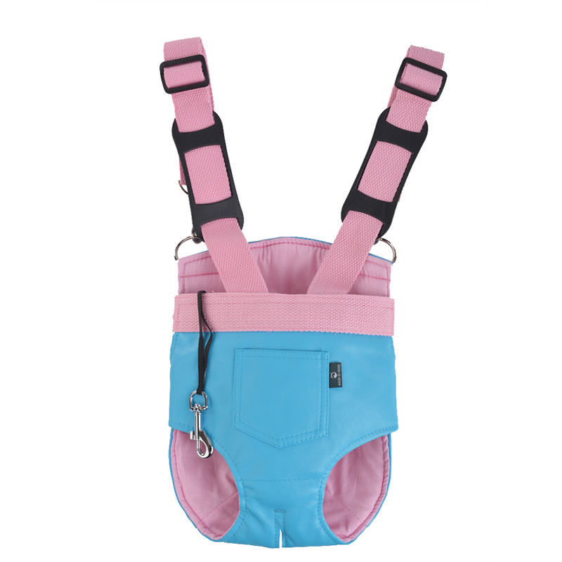 (5 Pieces/Lot)High Quality Pet Dog Carrier Soft Leather Dog Backpack Travel Walking Puppy Dog Bag