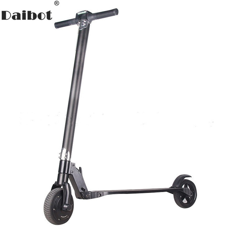 Daibot Folding Electric Scooter Two Wheel Electric Scooters Ultra-Light Portable 250W Kick Scooter For Adult