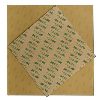"""エネルギッシュな 1 ミリメートル琥珀 Polyetherimide PEI シート 508 × 508 ミリメートル (20 \""""× 20\"""") ビッグサイズ 3D プリンタ構築表面 S5 3D プリンタ加熱されたベッド"""