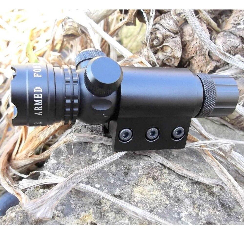 tactical verde feixe laser designator vista de caca com alta brilhante laser verde com 20mm ferroviario