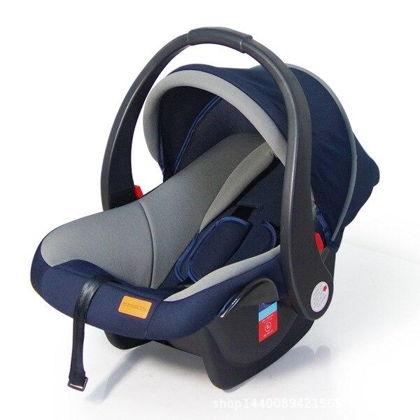 Free Shipping Baby Basket Car Safety Seat Baby Comfort Newborn Baby Portable Car Cradle 0-9 M Baby Sleeping Basket