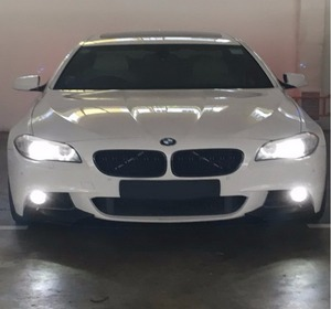 Image 5 - ANGRONG 2x H3 453 Bulb High Power LED Projector Headlight Fog Light Daytime Running Light DRL White(CA305)