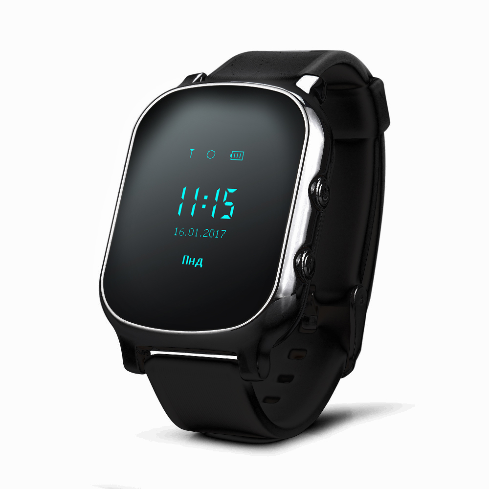 W58 smart children's watches GPS Tracker SOS Call with sim card in Russian Baby Old Men Smartwatch For IOS android Phone-in Smart Watches from Consumer Electronics on AliExpress