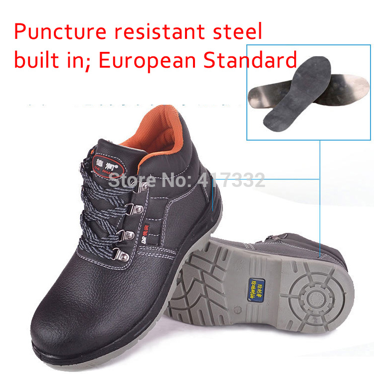 Aliexpress.com : Buy New Men Ankle Safety Military Boots Shoes ...