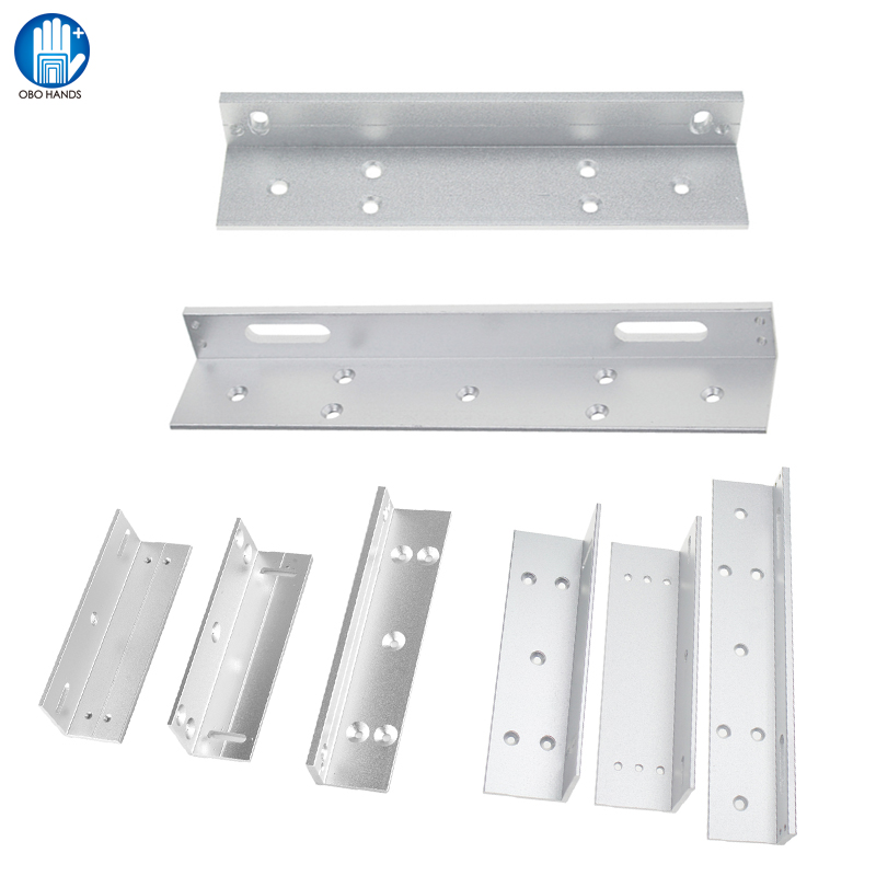 L And ZL Bracket Lock for 180KG/280KG  Magnetic Lock for Door Access Control System Electronic Door Lock Accessories