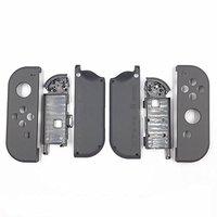 Orijinal Yedek Konut Shell Kılıf Nintendo için Set Anahtarı Sevinç-Con Controller & Pil Orta Plaka Çerçevesi (Gri)