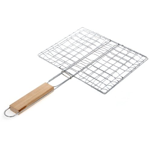Arrive BBQ Grille Pince Cage de Barbecue Cuisson Burger