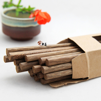 [House] original natural chicken products chopsticks / green wooden chopsticks / Household chopsticks / wood chopsticks 10 pairs фото