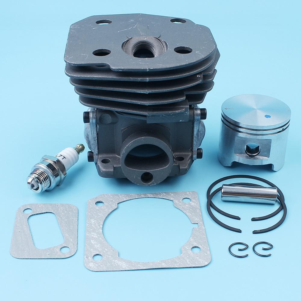 Tools : 45mm Big Bore Cylinder Piston Gasket Kit For Jonsered CS 2152 EPA CS 2150 CS 2147 EPA Chainsaw Nikasil Plated 537253102