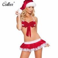 COLLEER 2017 Sale Sexy Lingerie Hot Christmas Lingerie Women S Bra Set Dress Sleepwear Underwear Sexy