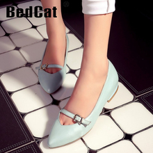 women real genuine leather ballet casual flats leisure shoes woman bowknot sexy fashion brand ladies shoes size 33-43 R7065