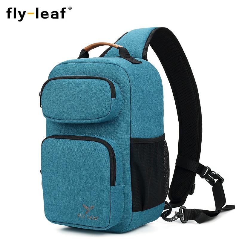 Image 2 - Flyleaf FL 345# Digital SLR camera bag male backpack bag waterproof professional messenger camera bag anti   theft bag-in Camera/Video Bags from Consumer Electronics