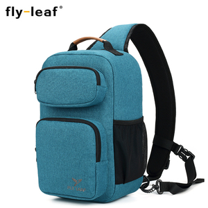 Image 2 - Flyleaf FL 345# Digital SLR camera bag male backpack bag waterproof professional messenger camera bag anti   theft bag