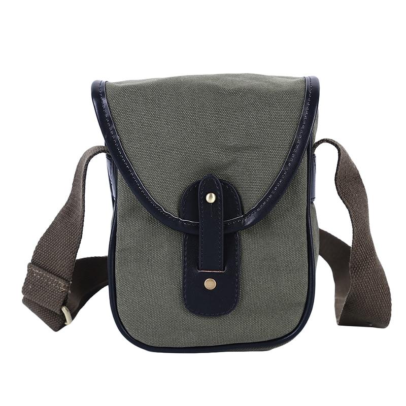 Vintage Shoulder Canvas Bag Women's Flap Crossbody Bag English Style Art Postman Bag Messenger Bag Student