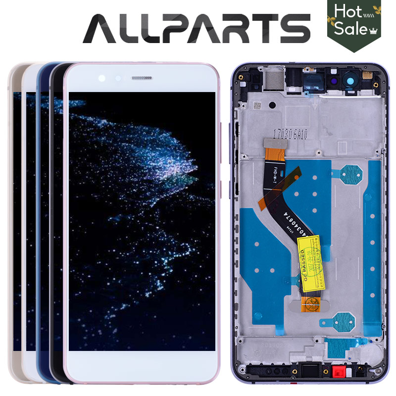 Nuevo 5,2 IPS LCD para HUAWEI P10 Lite Pantalla de pantalla táctil digitalizador para Huawei P10 Lite pantalla LCD con marco P10lite pantalla