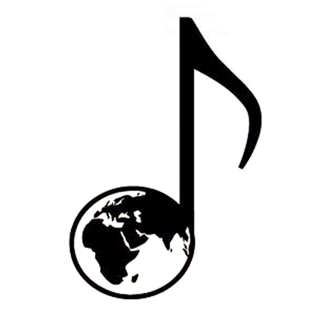 9 8cm14 5cm interesting jazz band music symbol car sticker decor silhouette vinyl decal