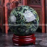 1PC 50mm Natrural Green Malachite Sphere Ball Carved Quartz +Stand Healing C205 Natural stones and minerals