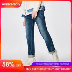 JackJones 2019 новые весенние Для мужчин эластичный хлопок стрейч джинсы брюки Loose Fit джинсовые брюки Для мужчин брендовая модная одежда 219132584