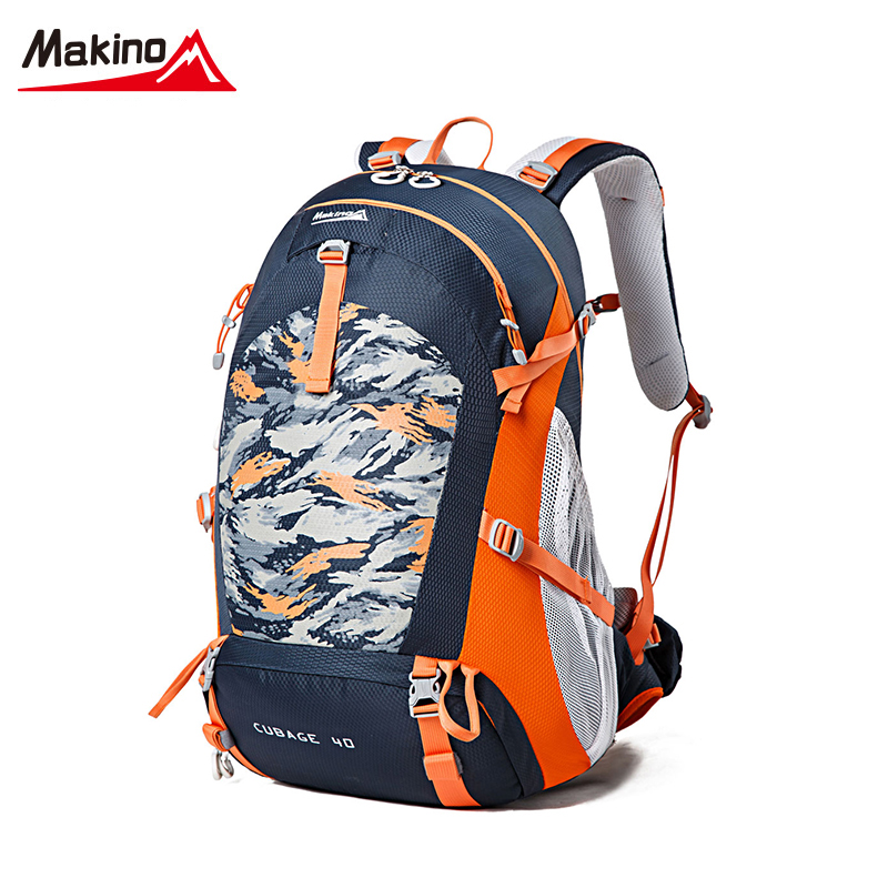 ФОТО Makino Men Women Sports Bags Lightweight Riding Multi-purpose Travel Backpack Outdoor Hiking   Backpack Mountaineering Bags 40L