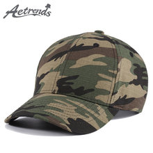 AETRENDS  Army Tactical Camouflage Baseball Cap for Men Women Green  Camouflage Cap Hat Men 9b97ab13fc1