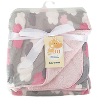 Baby Blankets 2016 New Thicken Double Layer Coral Fleece Infant Swaddle Bebe Envelope Stroller Wrap Newborn